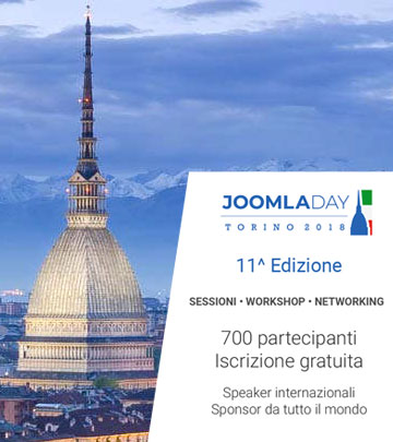 Relatore al Joomla Day - Workshop SEO per Joomla